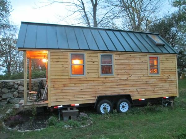 tiny house on wheels 26000 westerly ri trailers rvs rh pinterest com
