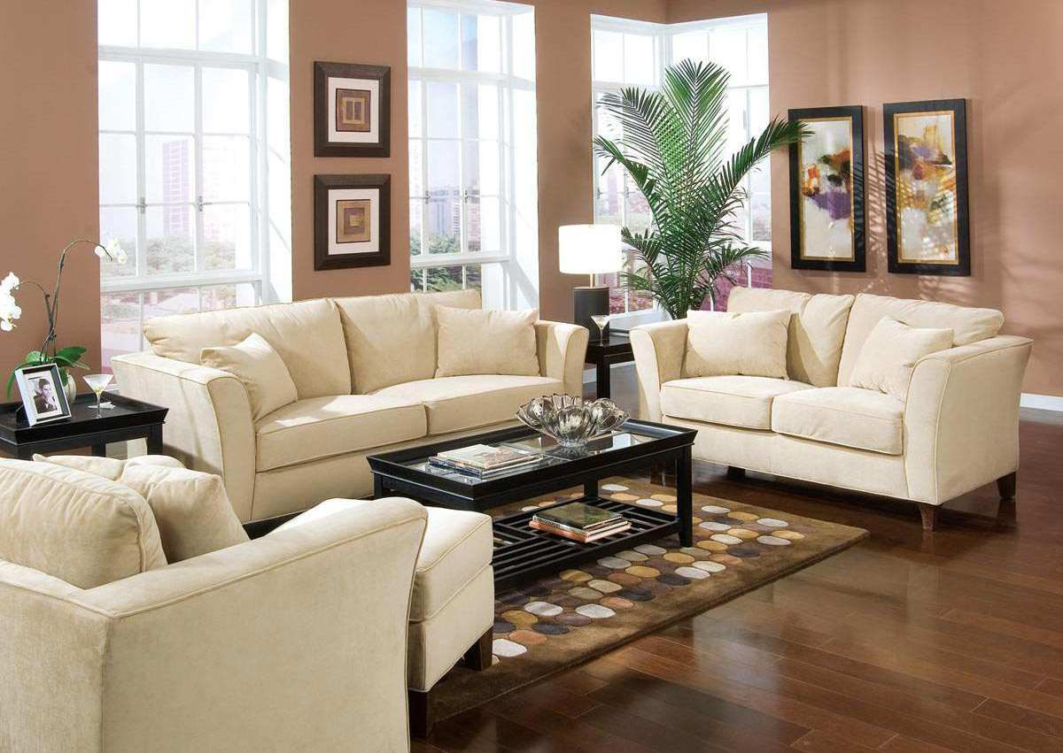 White Leather Sofa Decorating Ideas – White Sofa Living Room Decorating Ideas