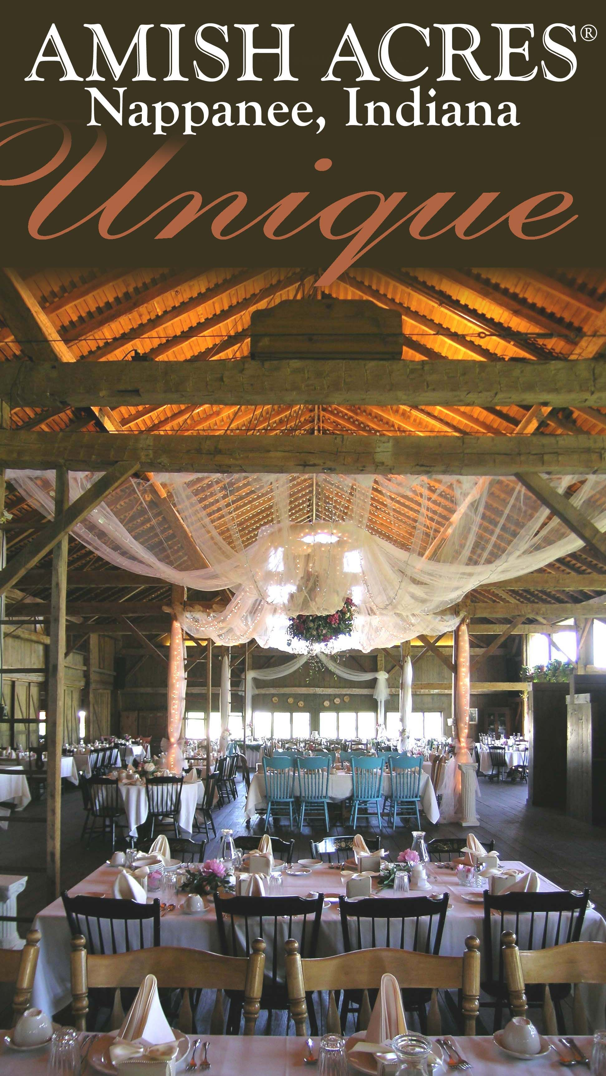 Find This Pin And More On Barn Weddings At Amish Acres