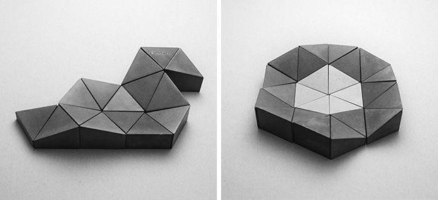 Product Design | Puzzle | Concrete design | Beton design | Betonlook ...