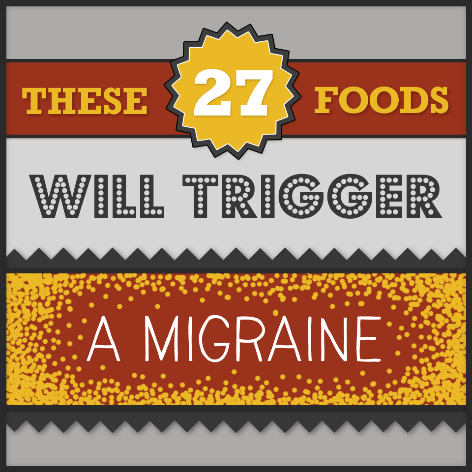 foods that trigger migraines pdf