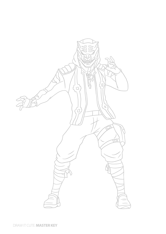Pawel Rosolek On Behance Fortnite Personajes Dibujos Para Colorear