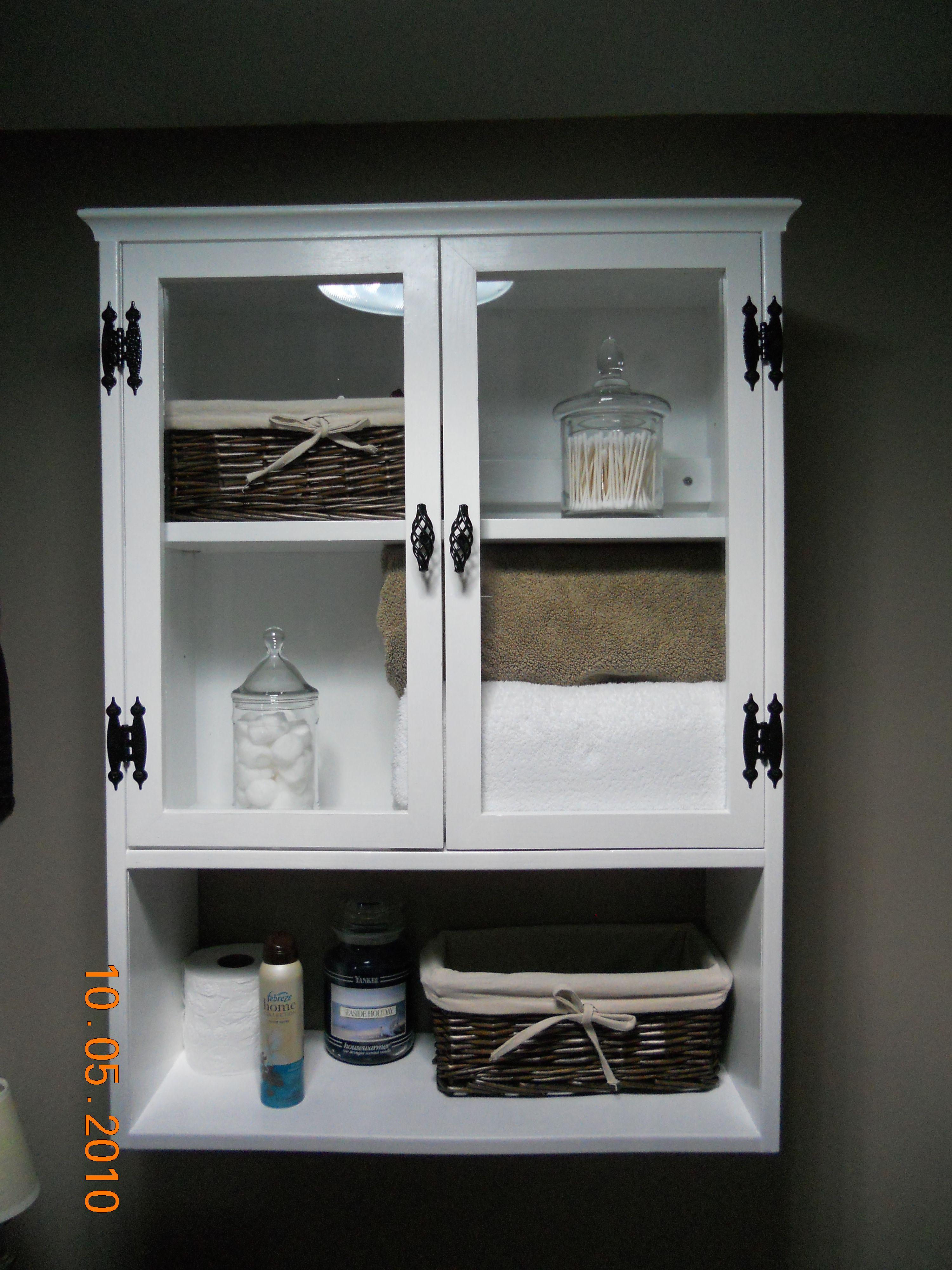 Bathroom Storage {guest bath}