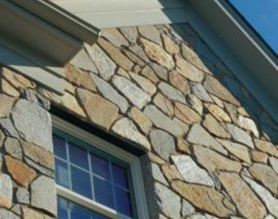 How To Install Tips For Field Stone Exterior Wall Covering Ehow Stone Veneer Exterior Stone House Exterior