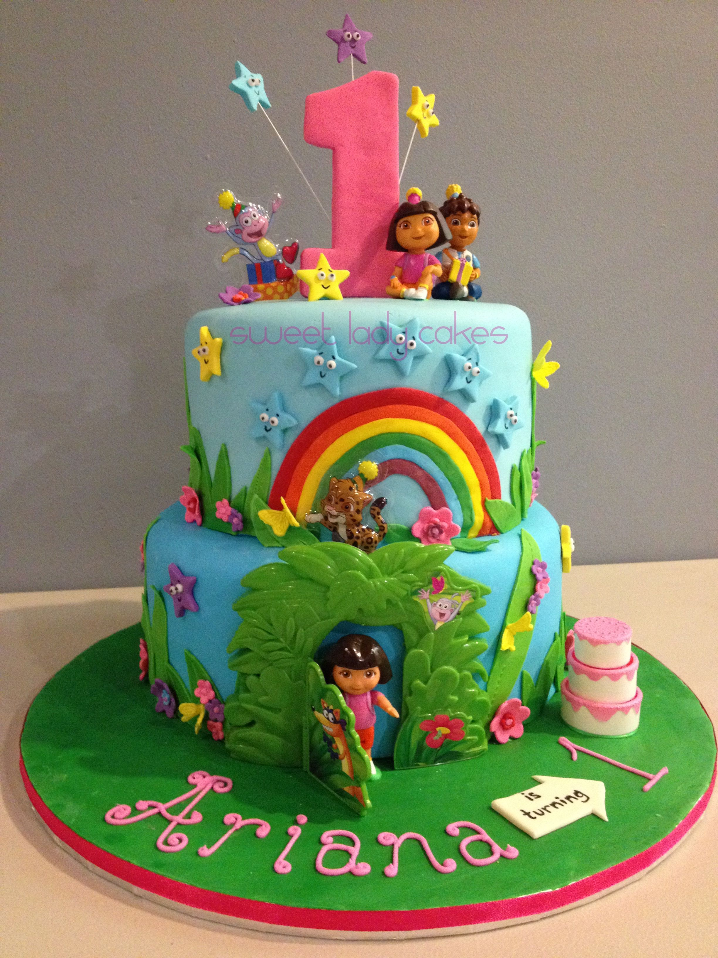 Phenomenal Best 25 Dora Cake Ideas On Pinterest Dora Birthday Cake Dora Best Personalised Birthday Cards Veneteletsinfo