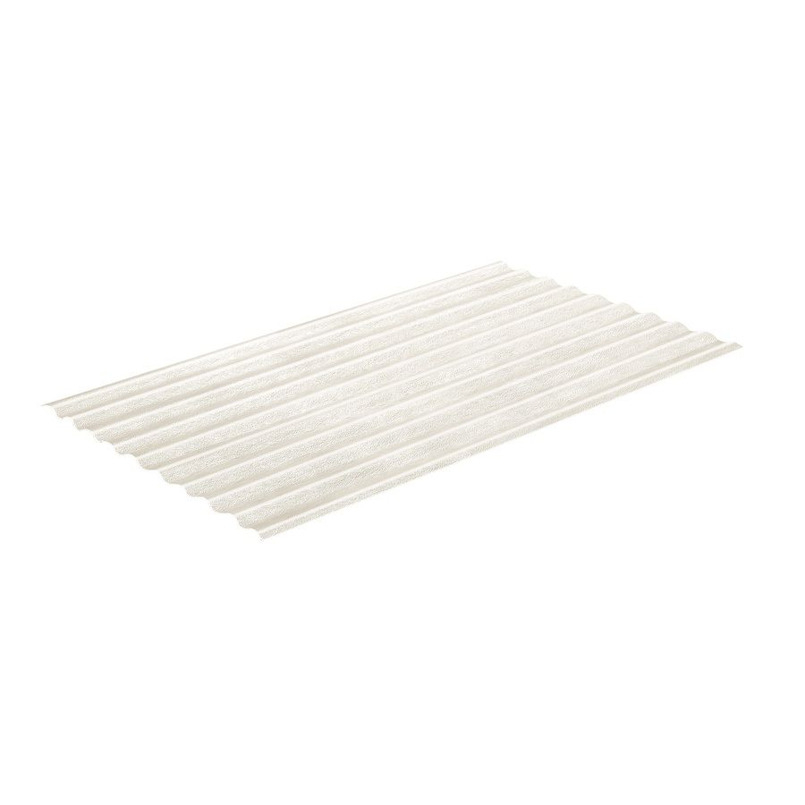 Sequentia 2 166 Ft X 12 Ft Corrugated Clear Fiberglass Roof Panel Lowes Com In 2020 Fiberglass Roof Panels Fibreglass Roof Roof Panels