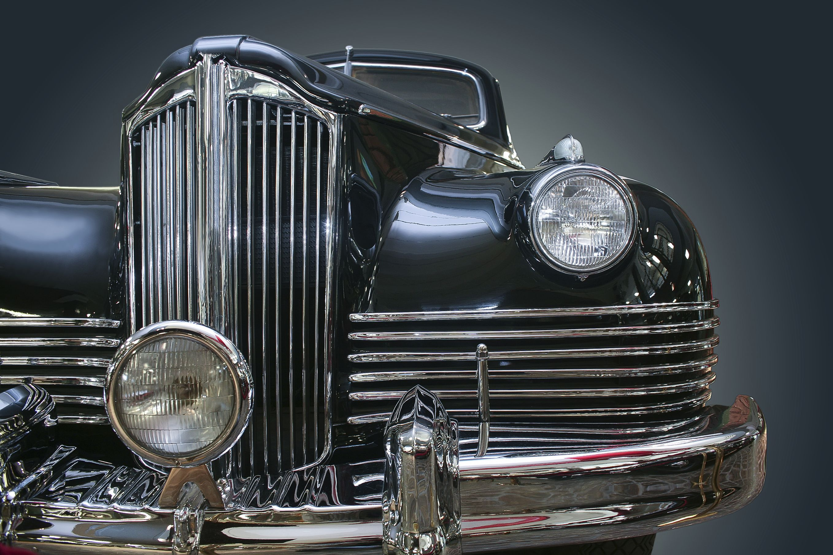 Classic cars were made with craftsmanship. Ancient