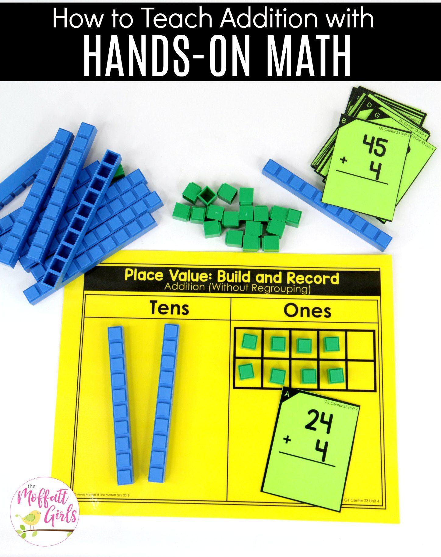 First Grade Place Value 1st Grade Math Math Place Value