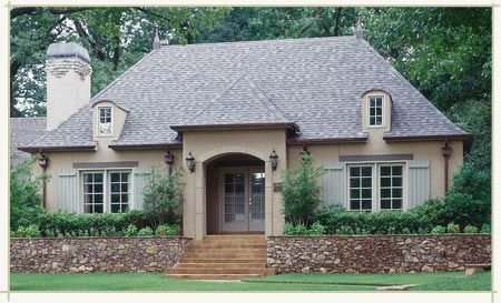 cottages jack arnold luxury house plans - French Country Cottage House Plans
