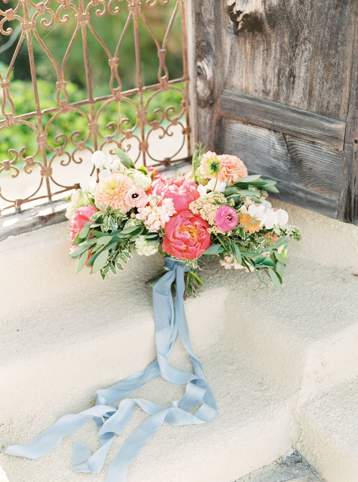 Add A Splash of Color + Elegance to Your Ranch Wedding