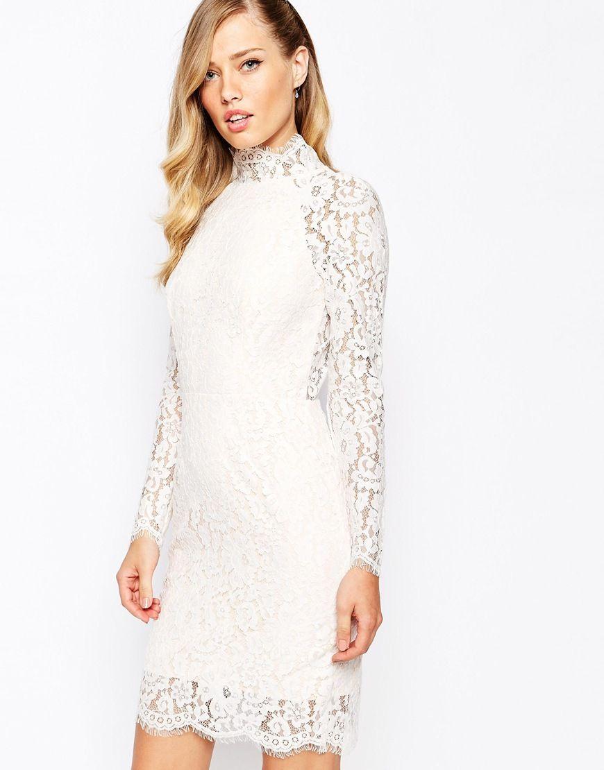 Bild 19 von Keepsake – One Night – Figurbetontes Kleid aus Spitze