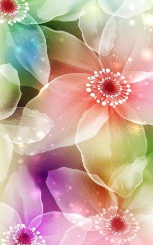 Magic Flowers Live Wallpaper Pastel Palette Pinterest Pastel