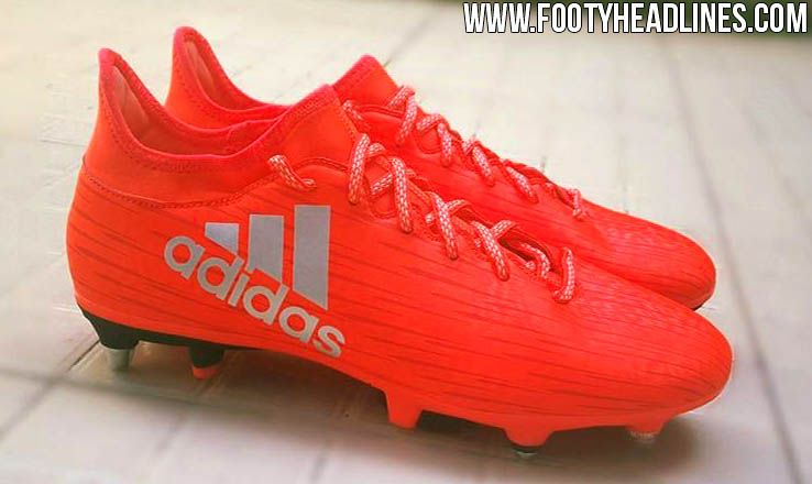 8be017ae1 The red next-gen Adidas X 16.1 Boots introduce a striking design for the  second generation of Adidas  Chaos Boot. Set to be released in Summer 2016