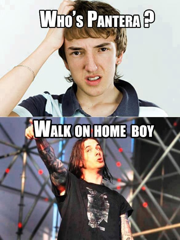 Who\'s Pantera? Walk On Home Boy!! #Pantera #Kamisco | Pantera ...