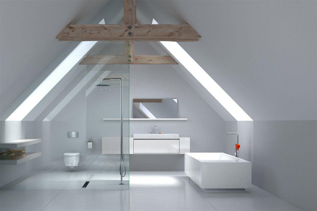 Badezimmer Im Dachboden Pin Von Jarousseau Marie Auf