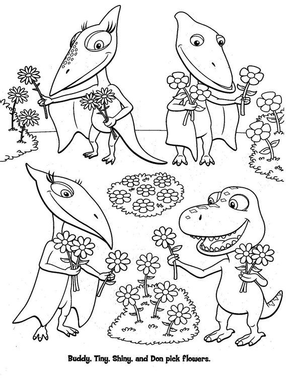 Get The Latest Free Dinosaur Train Coloring Pages Images Favorite To Print Online By ONLY COLORING PAGES
