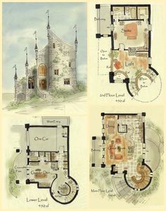 Real Fairytale Cottage Castle Floor Plans Cottage House Plans Castle Floor Plan Fairytale House