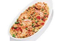 Healthy Arroz con Camarones (Rice and Shrimp)