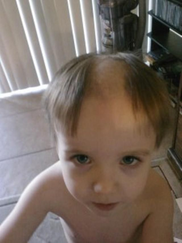 20 Messy Kids Who Are In Sooo Much Trouble: The Reverse Mohawk