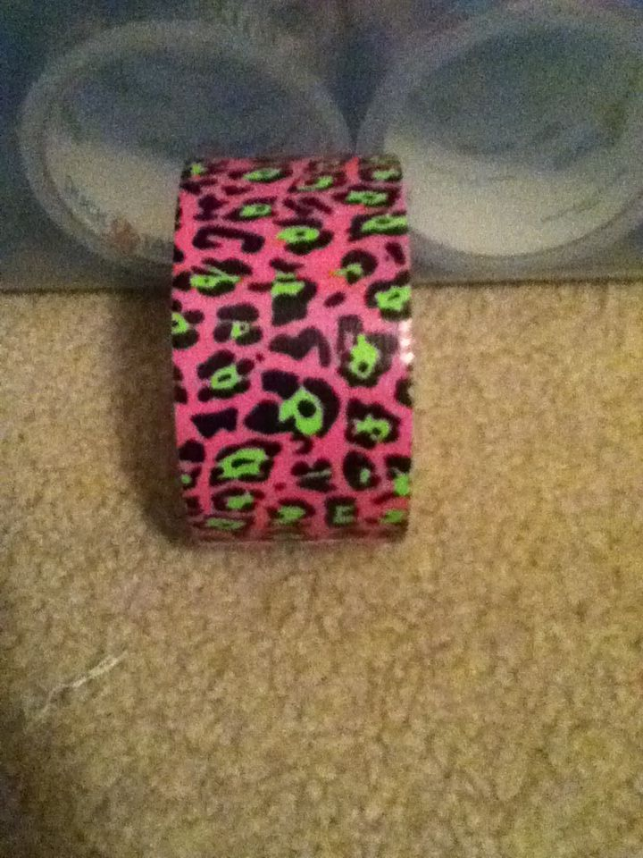 Pink and light green cheetah duct tape duct tape pinterest pink and light green cheetah duct tape aloadofball Choice Image