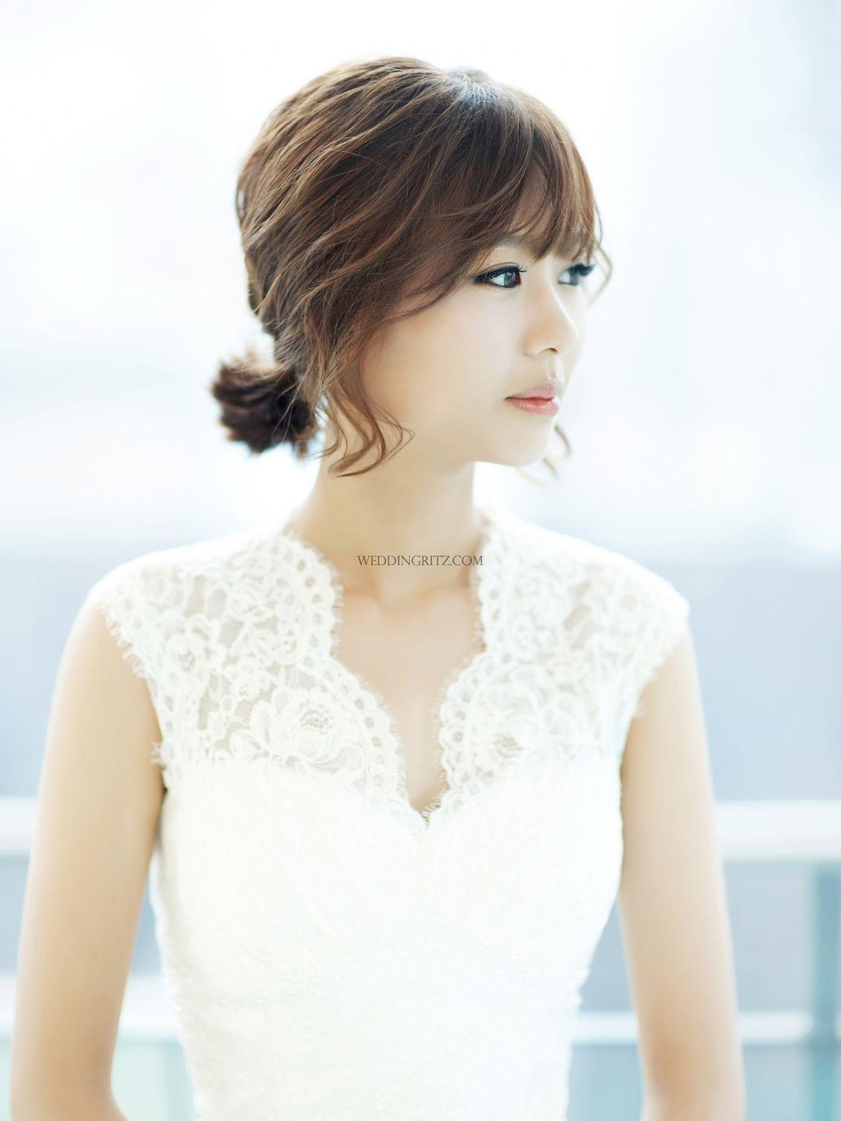 Sample Wedding Makeup : Beautiful Gyuniyoung in Korea Hair and Makeup Sample ...