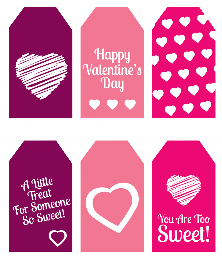 graphic relating to Valentine Gift Tags Printable identify This kind of cost-free printable present tags are therefore stinkin adorable! Best