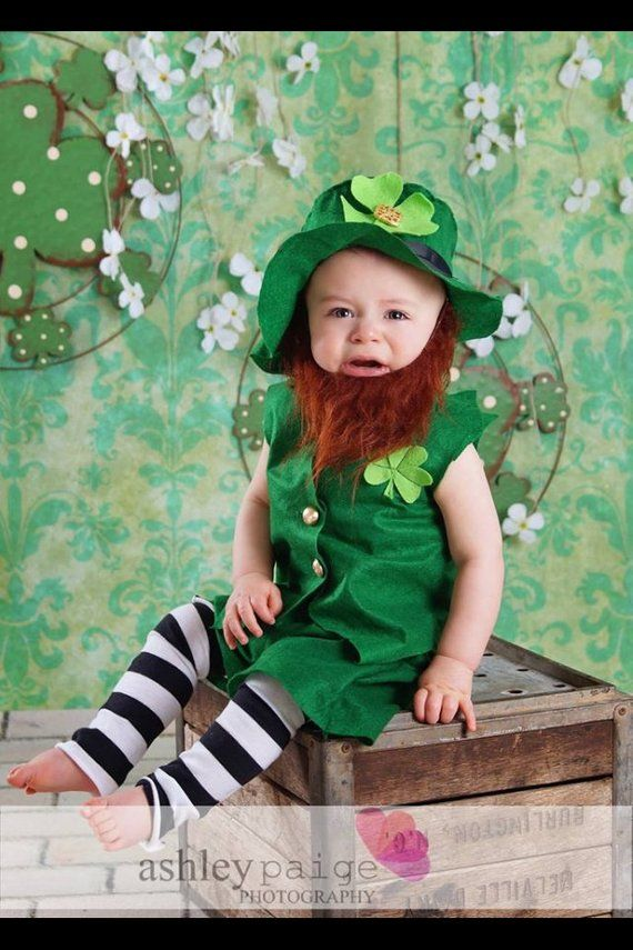a2dcc3a0b Babys Leprechaun Costume, Boys or Girls Costumes, Leprechaun Costume, Baby  Leprechaun Costume, St. P