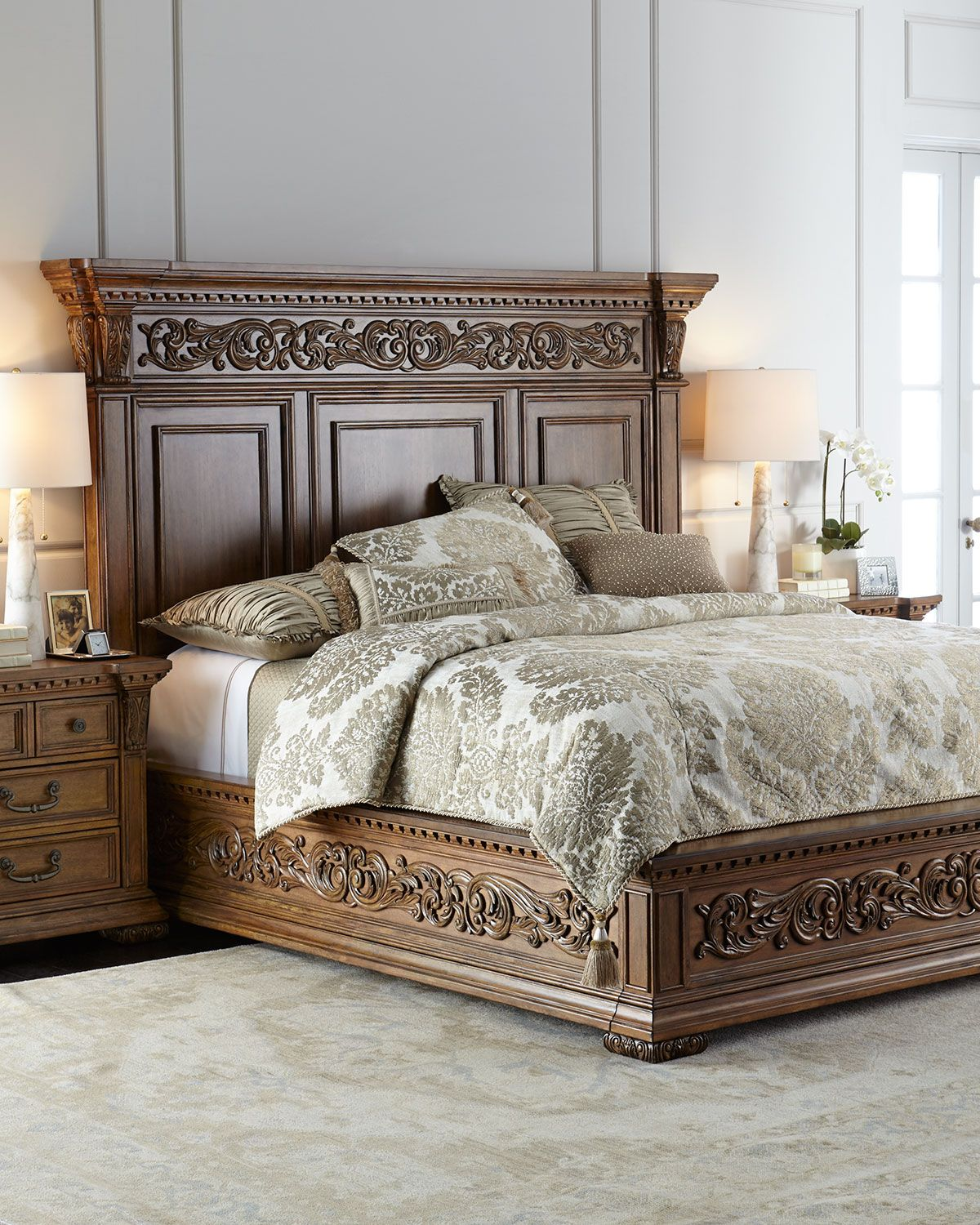 Wembley California King Bed Traditional Bedroom Furniture Wood Bedroom Furniture Bedroom Furniture Beds
