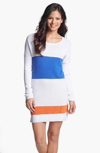 6b8502dba5 Tommy Bahama Colorblock Sweater Cover-Up available at #Nordstrom maternity  coverup