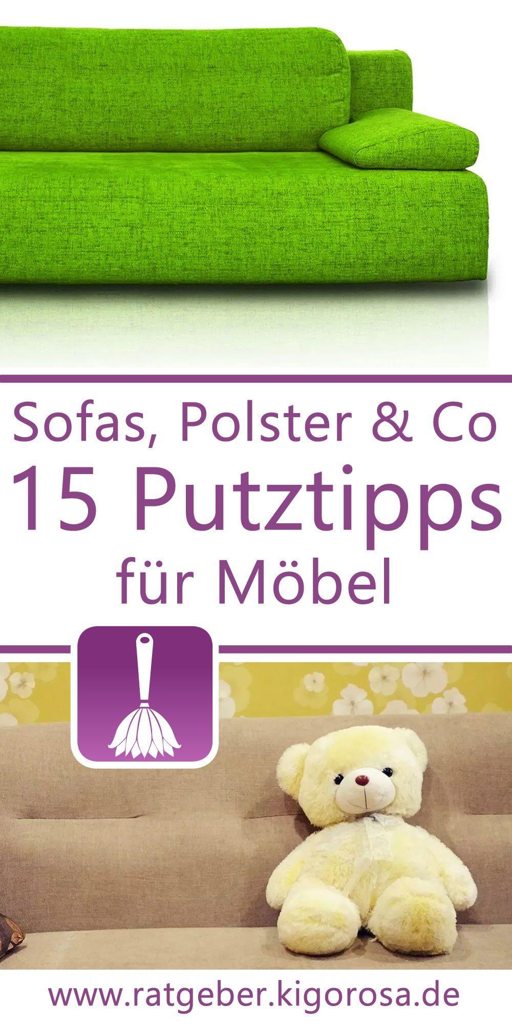 15 Tipps Tricks Fur Das Putzen Von Mobeln Polstermobel