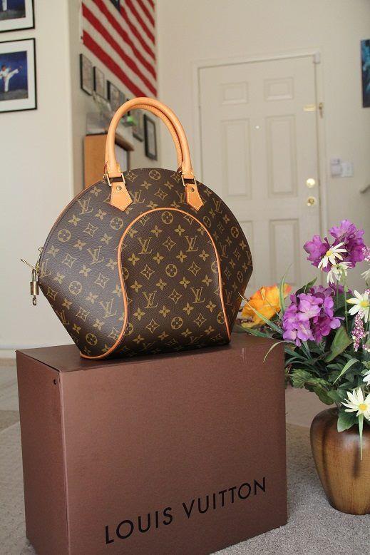 36d92815b6e 100% Guaranteed Authentic Louis Vuitton Ellipse MM Monogram