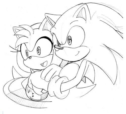 Sonic And Amy Sonic Sonic And Amy Sonic Underground
