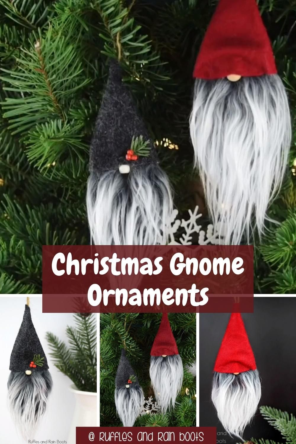 Photo of DIY Gnome Ornaments for Christmas