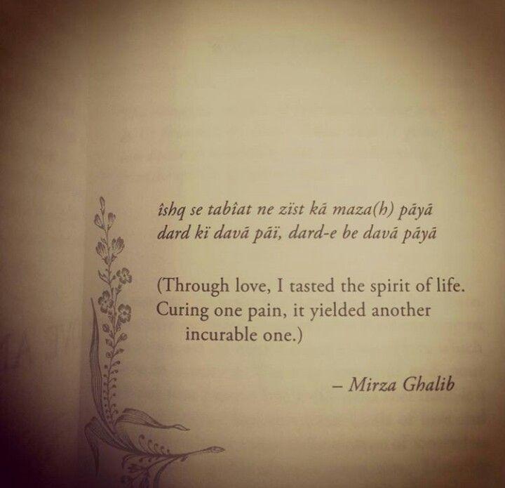 Poetry Hindi, Urdu Poetry Ghalib