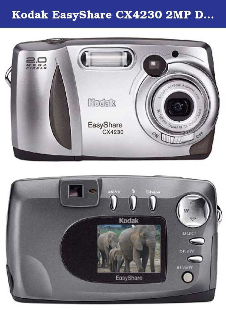 Kodak EasyShare CX4230 2MP Digital Camera with 3x Optical Zoom ...