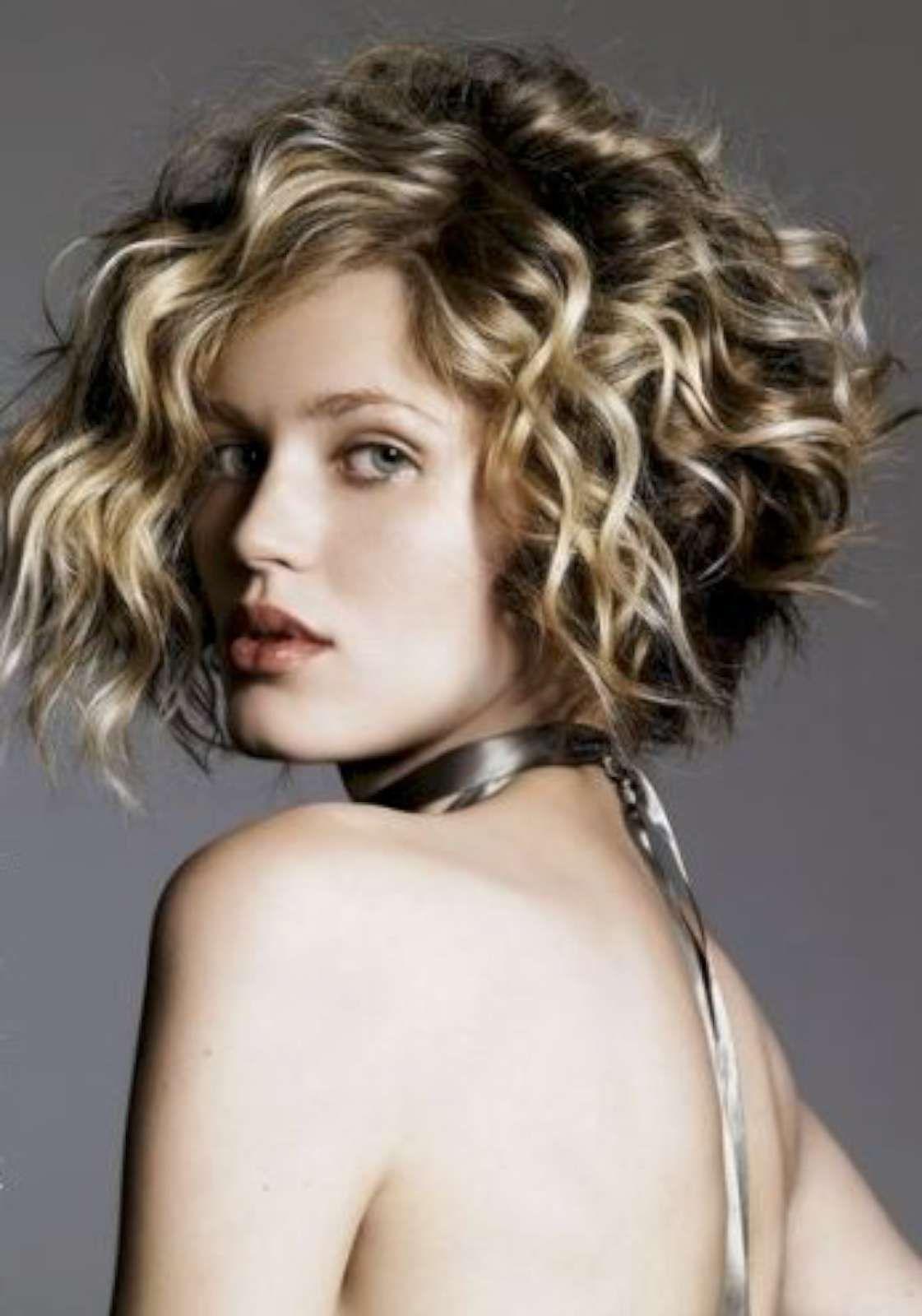 spesso Bob cut per capelli ricci | Capelli | Pinterest | Capelli ricci  YM24