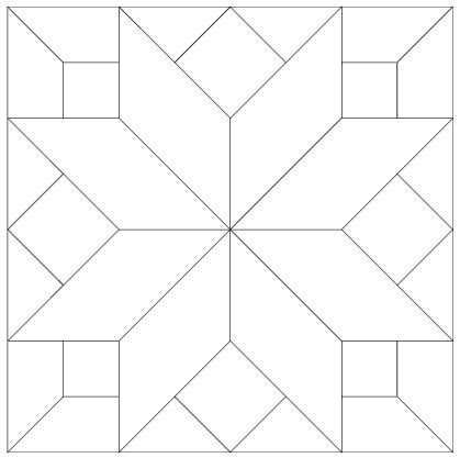Printable Quilt Block Patterns | quilt block 7 blank possible ... : free block quilt patterns - Adamdwight.com