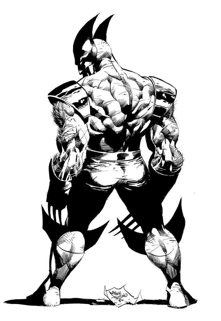Wolverine by Mike Deodato Jr (Marvel comics) | COMIX+ ...