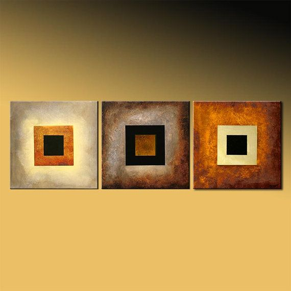 54 x 18 Original Contemporary Abstract Painting by OsnatFineArt ...