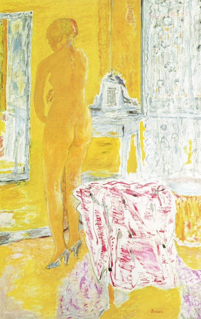 1931Pierre Bonnard 18671947 Large Yellow Nude
