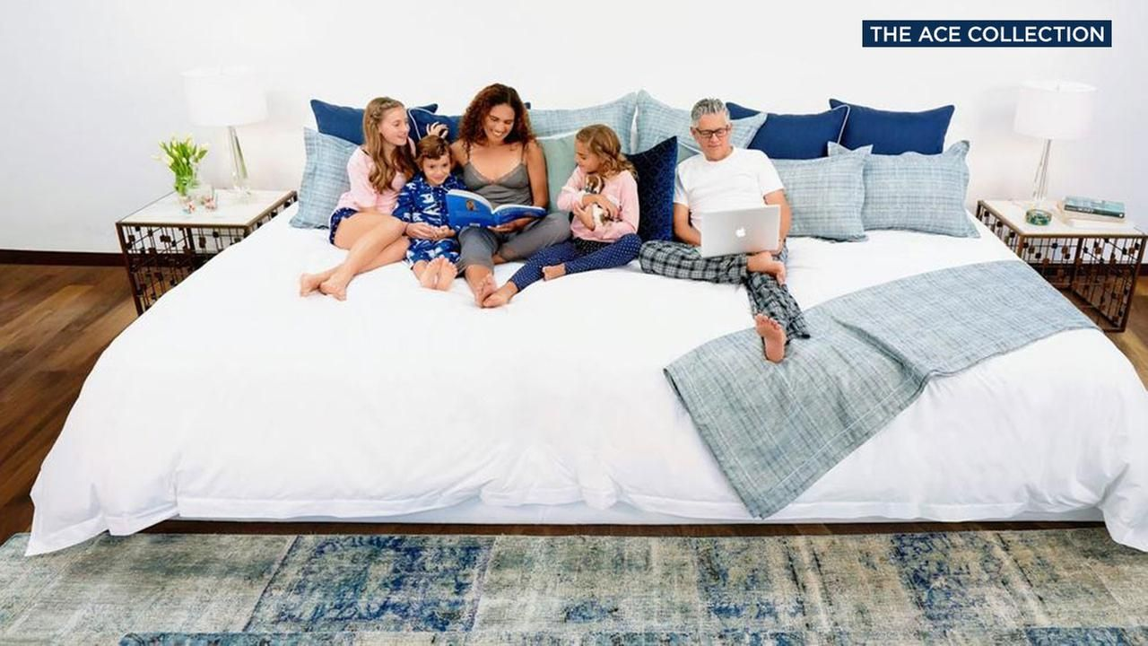 Want A Bigger Bed Firm Offers 12 Foot Wide Family Sized Mattress Https Cstu Io C2ece4 Mattress Bestmatress Firmmattress Family Bed Big Beds Huge Bed