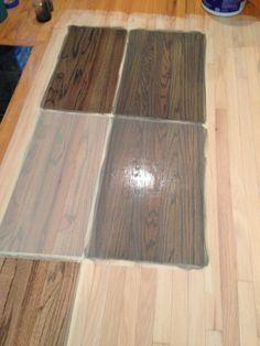 Ebony And Beechwood Gray Stain Red Oak Floors Staining Wood Floors Oak Floor Stains