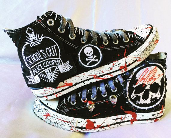 Alice Cooper Schools Out All Star Chuck Taylor Converse