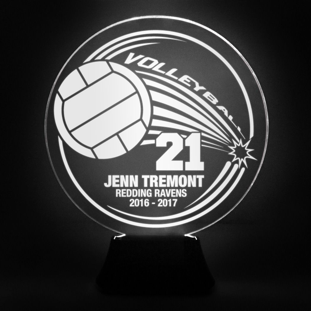 Volleyball Personalized Led Lamp Spike With Custom Text And Number Youth Girls Volleyball Gift Ideas Volleyball Gifts Volleyball Chalktalksports