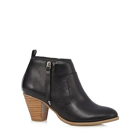 Nine by Savannah Miller Black 'Samantha' ankle boots- at Debenhams.com