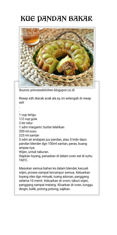 Pin Oleh Nani Theng Di Kue Resep Kue Resep Dan Resep Masakan