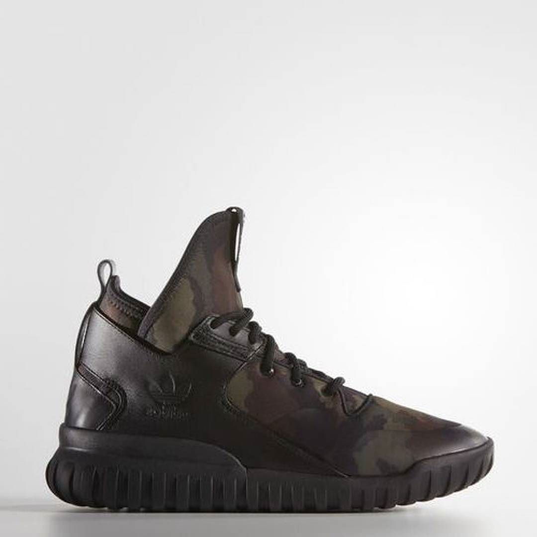 "The Adidas Tubular X ""Green Camo"" is NOW available!  Click the link in our profile bio to grab a pair! #SneakerLaunches #SneakerShouts by sneakerlaunches"