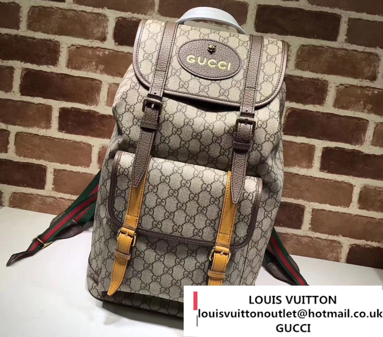 d73a8251ea6d20 Gucci Soft GG Supreme Backpack Bag 473869 2017   Gucci in 2019 ...