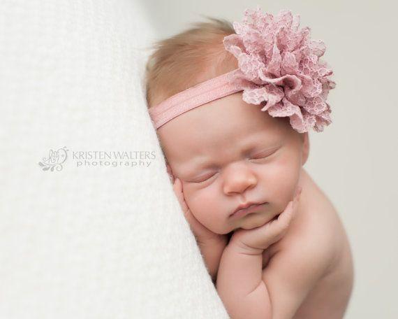 Infant Headband Purple Headband Girl Headband Newborn Headband Baby Headband Purple Baby Headband Plum Headband Baby Girl Headband