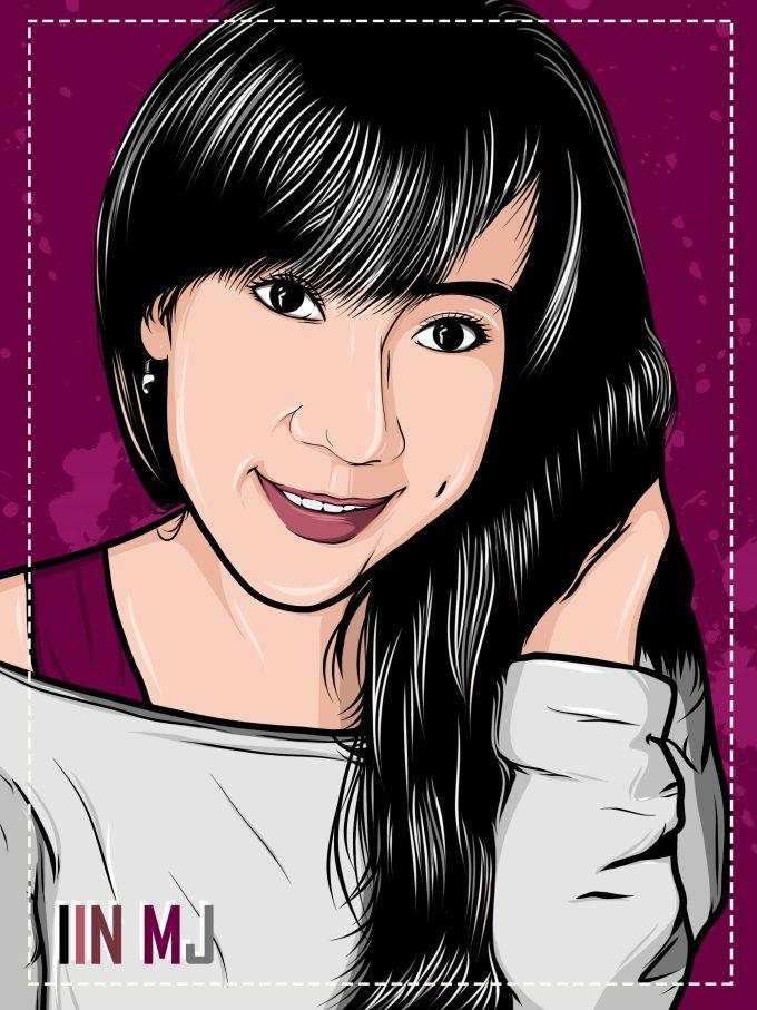 make you cool cartoon face by farin_syah